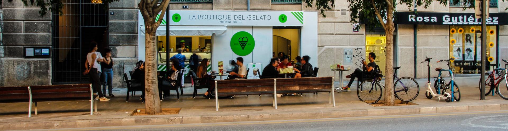 La Boutique del Gelato Vía Roma
